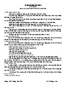 Tài liệu bồi dưỡng học sinh giỏi môn Sinh 9 - Chương I: Định luật di truyền của Menđen