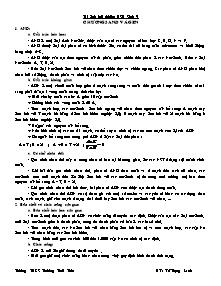 Tài liệu bồi dưỡng học sinh giỏi - Môn Sinh 9