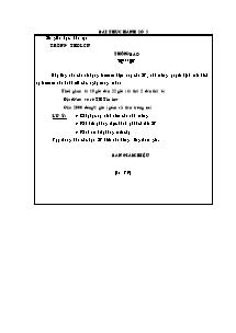 Bài thực hành số 5 môn Tin học Lớp 9