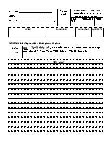 Đề kiểm tra định kì giữa học kỳ I Tiếng việt Khối 2 - Năm học 2009-2010