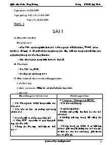 Giáo án Tự chọn Ngữ văn Lớp 9 - Năm học 2009-2010 - Trần Huy Hoàng